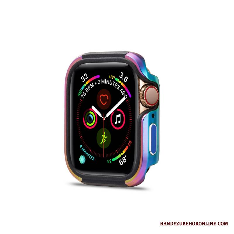 Apple Watch Series 1 Futerał Metal Stop Metali Granica Nowy Tendencja Kolorowe Anti-fall